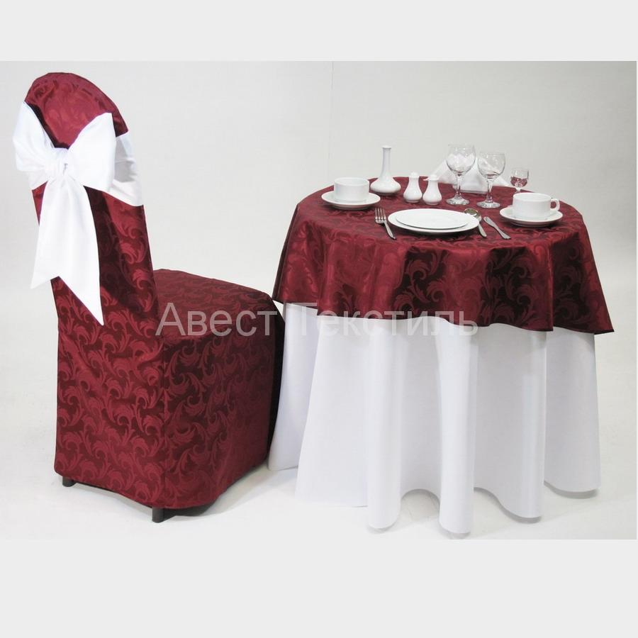 Чехлы на стулья и скатерти своими руками